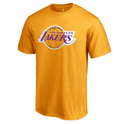 new products d57f2 38628 LeBron James Los Angeles Lakers LA #23 NBA Fanatics Gold T-Shirt Backer  Jersey