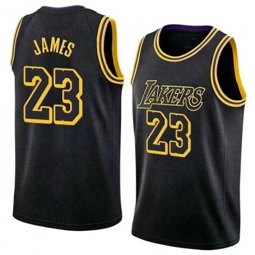 new styles 7470f acbb7 New Los Angeles Lakers Lebron James Jersey #23 Basketball Jersey Embroidery  2018