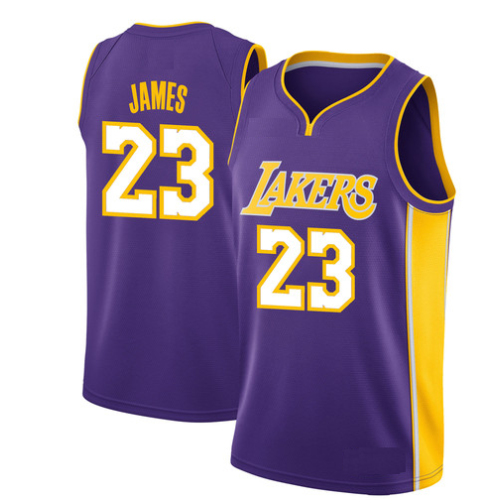 new styles 0f179 1bbd4 New Los Angeles Lakers Lebron James Jersey #23 Basketball Jersey Embroidery  2018